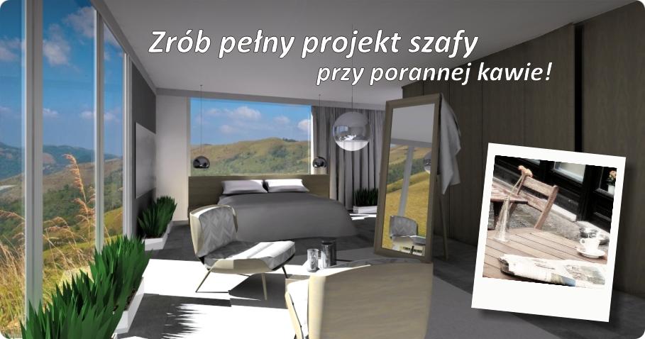 Projektowanie szafy z Modułem SZAFY3 jest tak proste i przyjemne,